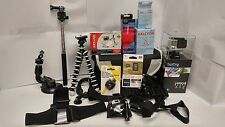 GoPro HERO4 Black Camera and Deluxe Expedition Kit, 25 pieces CHDHX-401