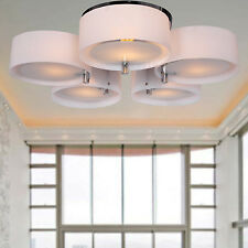 Modern Round Chandelier Pendant Lamp Ceiling Light for Bedroom Living Room
