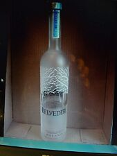 1 LOT 12 Belvedere Vodka   EMPTY  Bottle. 1 liter EACH