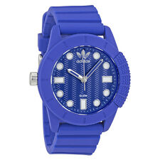 Adidas Originals Blue Dial Blue Silicone Watch ADH3103