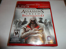 Assassin's Creed: Brotherhood  (Sony Playstation 3, 2010) NEW PS3