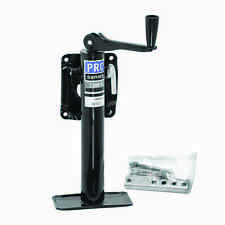 "PRO SERIES BOLT ON TRAILER JACK 2,000 lbs - W/ FOOTPLATE - TOPWIND - 10"" LIFT"