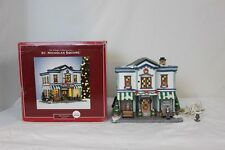St Nicholas Square Phil's Pharmacy Christmas Village 2008 Complete in Box