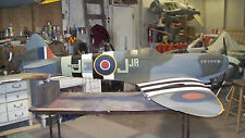 "Giant 1/4 Scale SPITFIRE MK-5 scratch build R/c Plane Plans & instruction 100""WS"