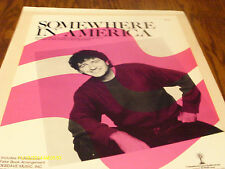 Mac Davis Somewhere In America 1986 Photo Sheet Music