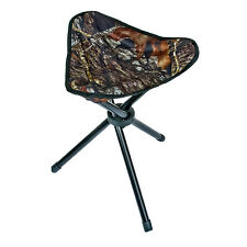 MOSSY OAK 3 leg camping stool 225 lb camo fishing deer hunting fold up MO-TLS-BU