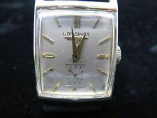 1950's VINTAGE LONGINES 9L 17JEWELS 14K GOLD  ART DECO