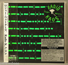 ROGER WATERS Radio K.A.O.S. JAPAN '05 OBI Orig Ltd Mini LP CD Sticker MHCP-692