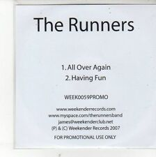 (EH331) The Runners, All Over Again / Having Fun - 2007 DJ CD