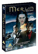 Merlin - Season 3 Vol.1 Series 3 Vol 1 (DVD, 2010, 3-Disc Set) New And Sealed