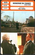 BIENVENUE MR CHANCE - Sellers,MacLaine,Ashby (Fiche Cinéma) 1979 - Being There