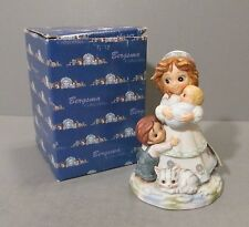"Bergsma Collectibles ""Mother with Baby, Little Boy and Cat"" Figurine"