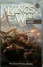 Mantic games Kings of War Softcover Rulebook 2nd Edition