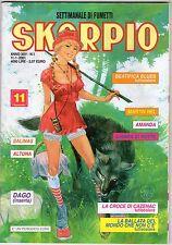 rivista SKORPIO ANNO 2001 NUMERO 1 CON INSERTO