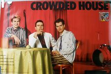 CROWDED HOUSE DON'T DREAM IT'S OVER 1987 MUSIC RECORD STORE DEBUT PROMO POSTER