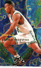 CARD N°277 BASKET=DANA BARROS (BOSTON CELTICS)=NBA 95/96 FLEER=CM 8,9X6,4