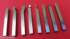 8pc HSS Lathe Turning Tool Set Form Tools 8mm Shank For Milling Turning Cutting