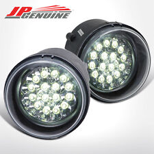 CLEAR LENS LED CRYSTAL STYLE BUMEPR FOG LIGHTS - DODGE / CHRYSLER / JEEP