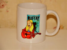 Friends TV Central Perk Cartoon Buffay Pattern Coffee Mug Dining Ceramics Cup