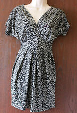 Ethel Austin animal print dress size 8