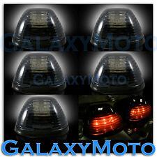 02-15 Dodge RAM TRUCK 1500+2500 5pcs Cab Roof Maker AMBER LED Lights SMOKE Lens