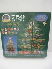 "VTG 1997 BITS & PIECES 3D JIGSAW PUZZLE ""AROUND THE XMAS TREE"" NEW SEALED 750pc"
