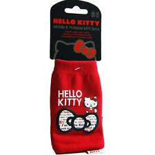 HELLO kitty phone sock case cover per NOKIA IPHONE 4 4S e telefoni più piccoli-Rosso