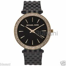 Michael Kors Original MK3322 Women's Darcy Stainless Steel Glitz Black Watch