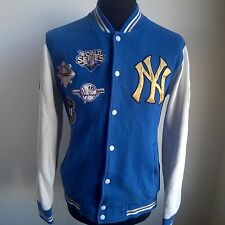 NEW York Yankees 2009 Varsity Top Camicia MLB Baseball World Series Taglia Adulto M