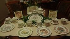 Brambly Hedge 22 Piece Tea Service Set, Including Two Framed, 3D Living Pictures
