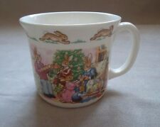 ROYAL DOULTON ~ BUNNYKINS ~ HUG A MUG ~ 1 HANDLE ~ MERRY CHRISTMAS FROM BUNNYKIN