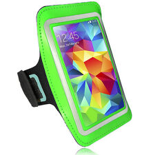 Sports Running Jogging Gym Armband Waterproof Cover for Samsung S3, S4 Green