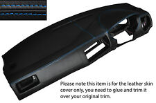 BLUE STITCH DASH DASHBOARD SKIN COVER FITS VW GOLF MK4 4 IV BORA JETTA 98-05