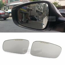 Rearview Blind Spot Curved Side Mirror Glass LED Type for HYUNDAI 2011-2014 i45