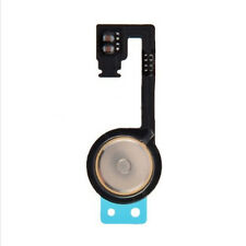 Home Menu Button  Flex Cable + Key Cap assembly Black For  iPhone 4