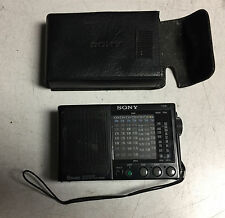 VINTAGE SONY PORTABLE SW/MW/FM RECEIVER RADIO ICF-SW20 9 BAND RECEIVER