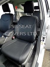 TO FIT A TOYOTA AVENSIS CAR, SEAT COVERS, 2016, LEATHERETTE MADE TO MEASURE