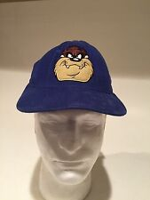 Warner Bros Taz Ball Cap Hat Youth Kids Blue One Size Snapback Fast shipping.