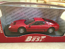 MINIATURE FERRARI 512 BB 1976 BEST 9258 1/43