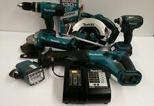 Makita 18V LXT 6 Tool Cordless Combo Kit Dewalt Milwaukee