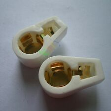 20pc New GOLD VACCUM Tube Caps Ceramic Socket for 811 805 572B 813 audio amp DIY