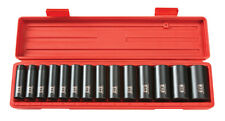 TEKTON 1/2 Dr. Deep Impact Socket Set (11-32mm) 12 pt. Cr-V 4884 Tool Set NEW