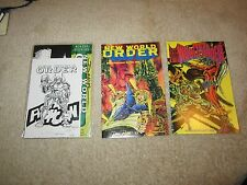 RARE NEW WORLD ORDER #1,#6,AND #8 SIGNED BY CREATOR ALL THREE, #1 IS SEALED !!