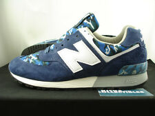 New Balance 576 Made In USA CAMO 9.5 US576CM1 blue navy burn rubber 577 1600