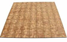 "TEAK DECK TILES 12"" x 12"" Outdoor Patio Interlocking DIY (Box of 12) Floor NEW"