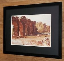 William Russell Flint print, Ancient Aquaduct, RA wall art ,20''x16'' frame