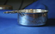 Very Rare R Blackinton Sterling Silver Three Kittens Nursery Rhyme Porringer