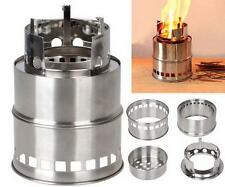 Outdoor Cooking Camping Wood Burning Stove Best Stainless Steel Alcohol Stove