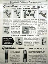 GUARDIAN Products Corporation J-M Graphite ASBESTOS Packing Page Ad 1952
