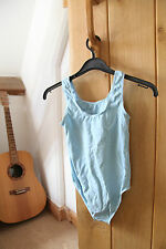 Roch Valley Light Blue Childs Dance Leotard Size 2